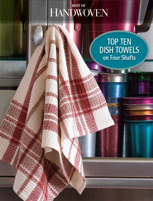 Best of Handwoven: Top Ten Dish Towels on Four Shafts eBookImage