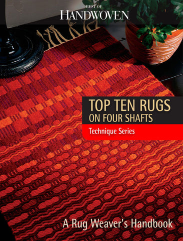 Best of Handwoven: Top Ten Rugs on Four Shafts eBookImage