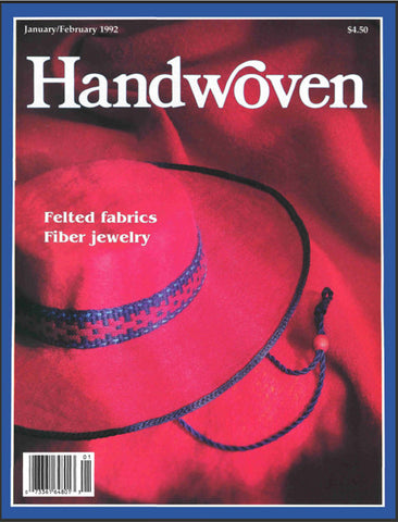 Handwoven, January/ February 1992 Digital EditionImage