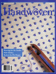 Handwoven, March/April 1993 Digital Edition Image