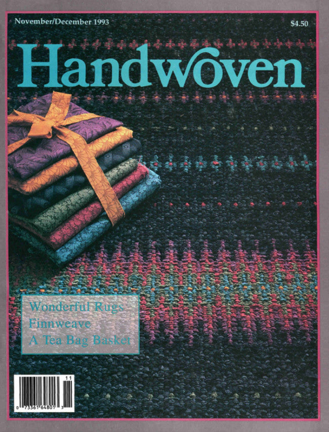 Handwoven, November/December 1993 Digital Edition Image