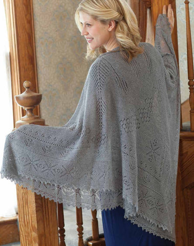 Lyanna's Knitted Shawl PatternImage
