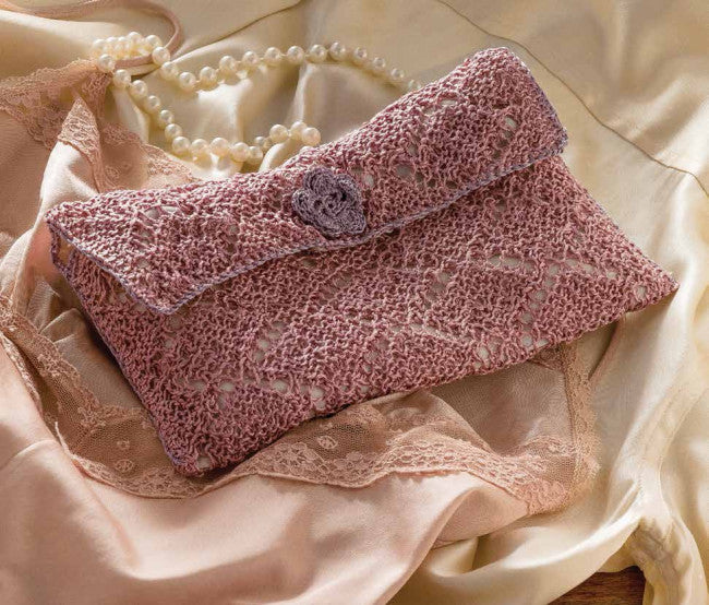 Knitted Lacy Bag for Lingerie PatternImage