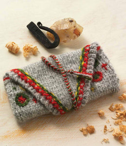 A Tinder Pouch to Knit Knitting Pattern DownloadImage