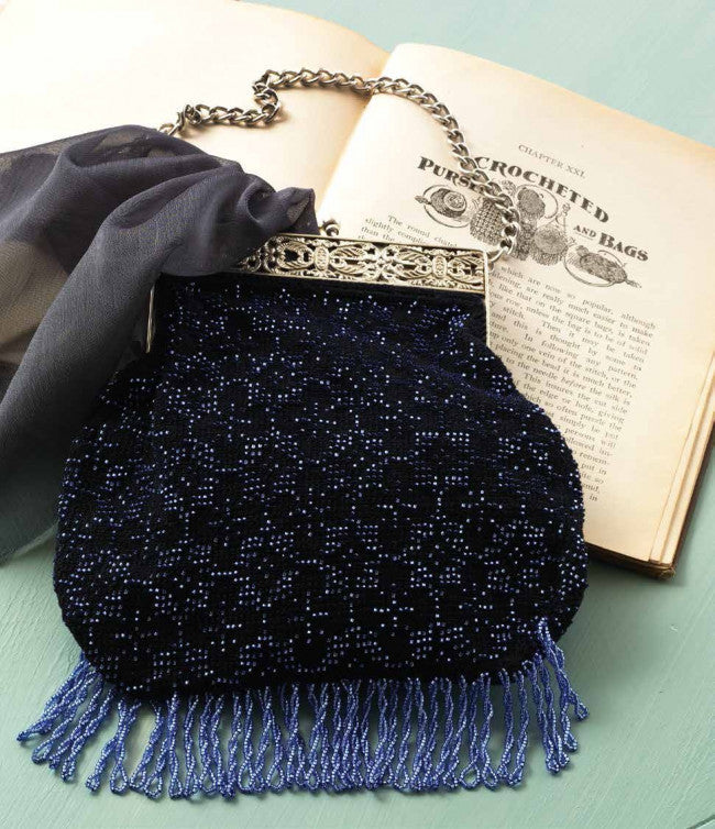 Addie Heron's Bead-Crochet Purse PatternImage