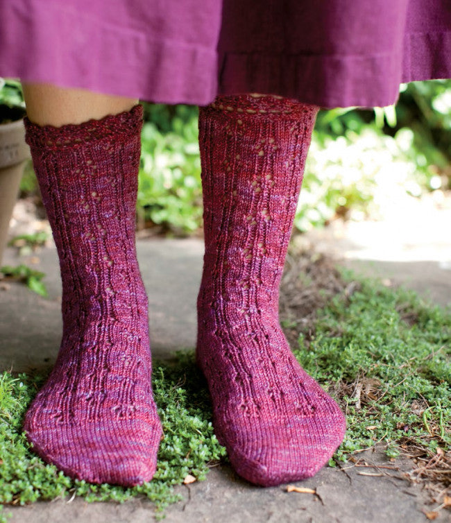 Jane's Dancing Knitted Stockings Knitting Pattern DownloadImage