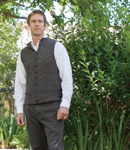 A Vest for Charles Knitting Pattern DownloadImage