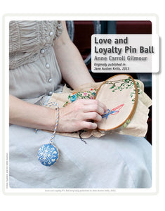 Love and Loyalty Knitted Pin Ball PatternImage