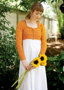 Austen Knitted Spencer Knitting Pattern DownloadImage
