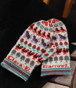 Clara Barrow's Mittens to Knit Knitting Pattern DownloadImage