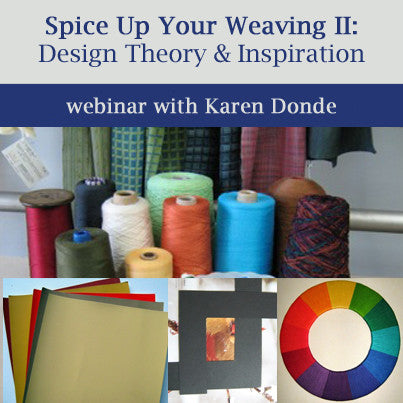 Spice Up Your Weaving 2: Design Theory & Inspiration On Demand Web SeminarImage