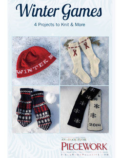 Winter Games eBook: 4 Projects to Knit & MoreImage