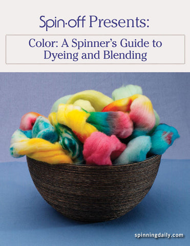 Spin-Off Presents: Color: A Spinner's Guide to Dyeing and Blending eBookImage