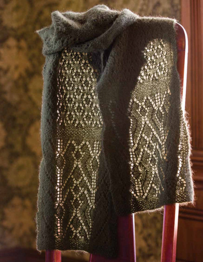 Arctic Tundra Scarf Knitting Pattern DownloadImage