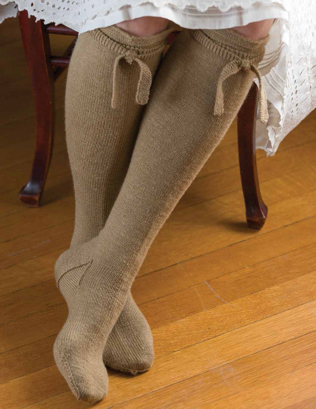 Barnim-Style Stockings Knitting Pattern DownloadImage