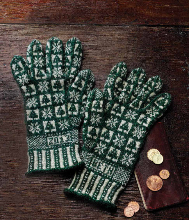 Winter: A Sanquhar Glove Knitting Pattern DownloadImage