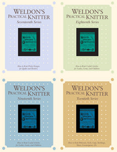 Weldon's Practical Knitter, Series 17-20 eBook SetImage