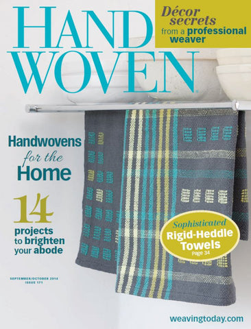 Handwoven, September/October 2014 Digital EditionImage