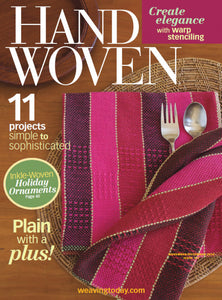 Handwoven, November/December 2014 Digital EditionImage