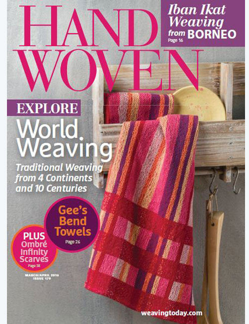 Handwoven, March/April 2016 Digital EditionImage