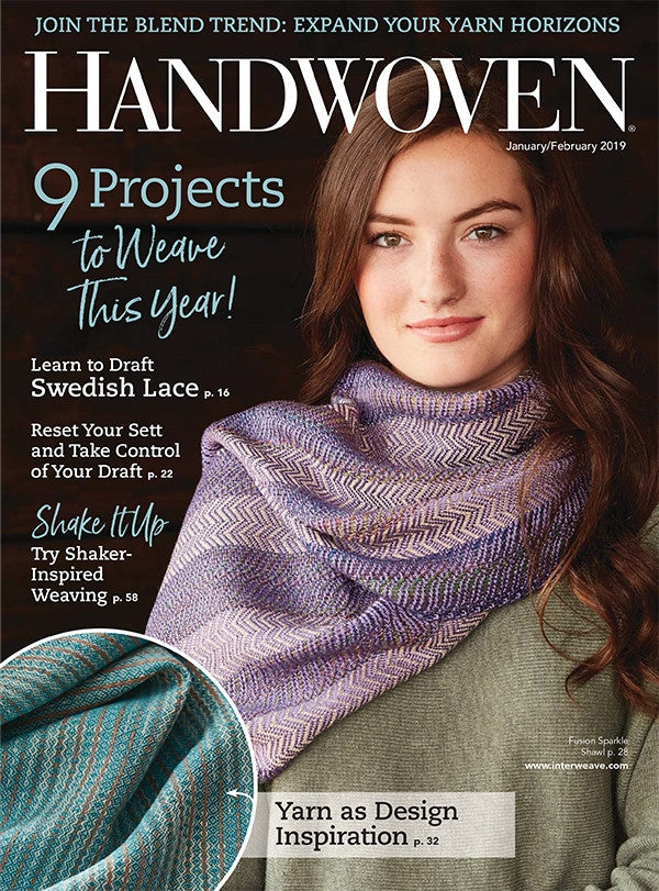 Handwoven, January/February 2019 Print EditionImage