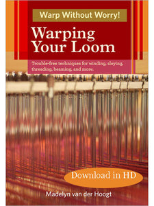 Warping Your Loom Video DownloadImage