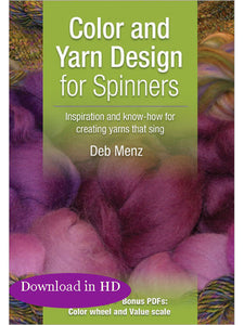Color and Yarn Design for Spinners Video DownloadImage