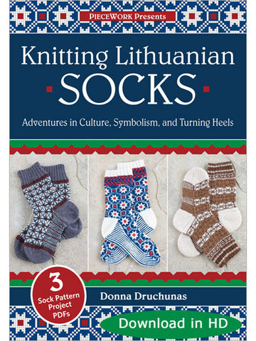 Knitting Lithuanian Socks Video DownloadImage