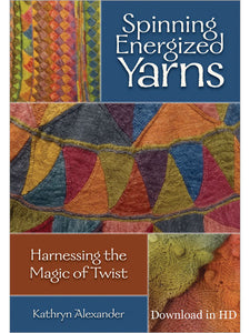 Spinning Energized Yarns Video DownloadImage