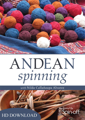 Andean Spinning with Nilda Callanaupa Alvarez Video DownloadImage