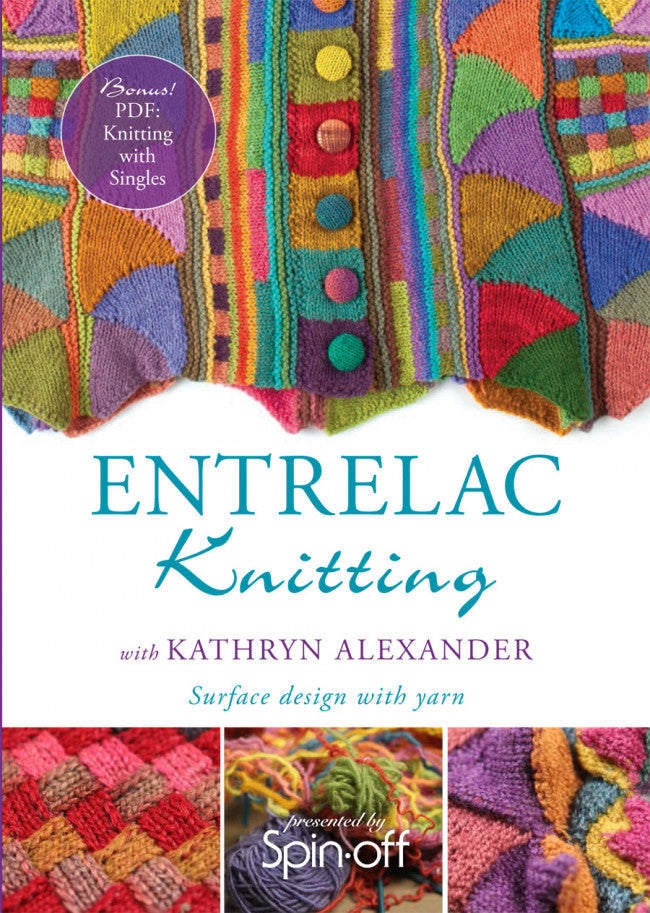 Knitting Entrelac Video DownloadImage