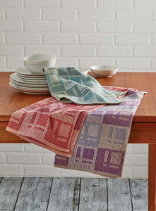Towels in a Modern Arrangement Weaving Pattern DownloadImage