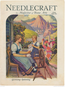 Needlecraft Magazine July 1930 PrintImage
