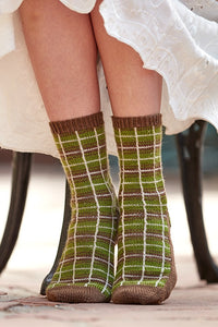 Nottingham Socks Knitting Pattern DownloadImage