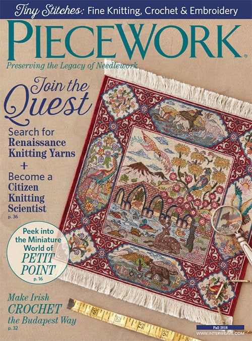 PieceWork Fall 2018 Digital EditionImage
