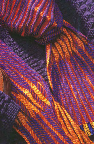 Best of Handwoven: Scarves on Eight Shafts eBook