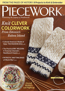 PieceWork Spring 2019 Print EditionImage