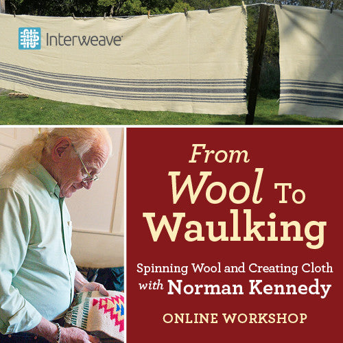 From Wool to Waulking: Spinning Wool & Creating Cloth with Norman Kennedy Online WorkshopImage