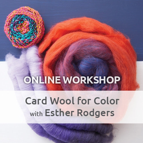 Card Wool for Color Online WorkshopImage