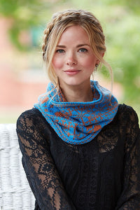 Scarab Cowl Knitting Pattern DownloadImage