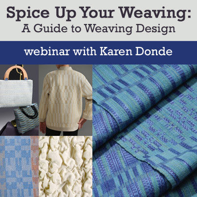 Spice Up Your Weaving: A Guide to Weaving Design on Demand Web SeminarImage