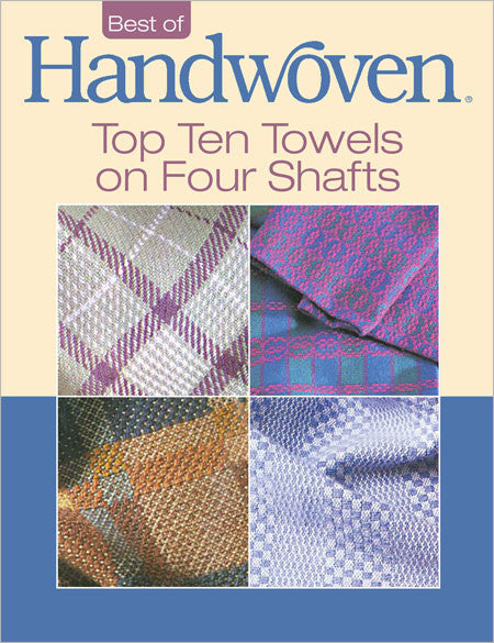 Top Ten Towels On Four Shafts: A Project Collection eBookImage