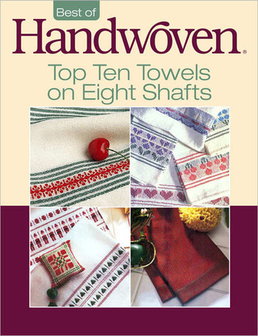 Top Ten Towels On Eight Shafts: A Project Collection eBookImage