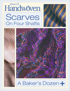 Best of Handwoven: Scarves on Four Shafts eBookImage
