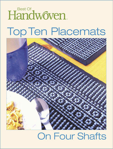 Best of Handwoven: Top Ten Placemats on Four Shafts eBookImage