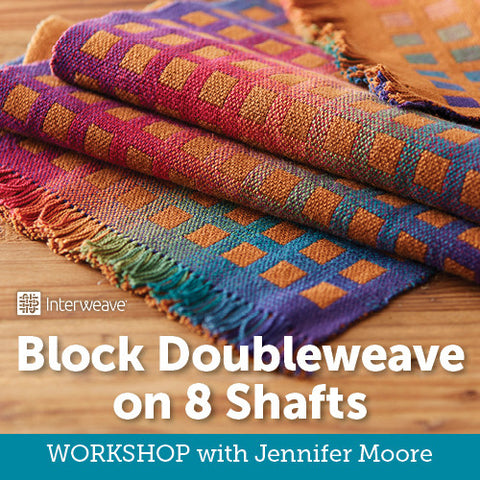 Block Doubleweave on 8 Shafts Online WorkshopImage