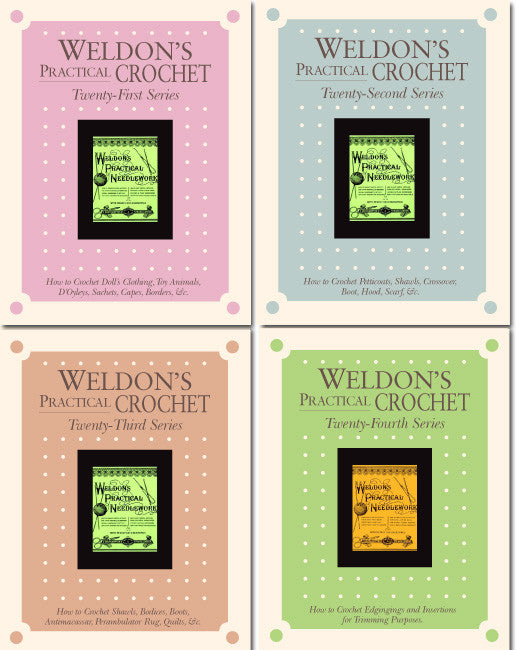 Weldon's Practical Crochet Series 21-24 eBookImage