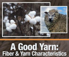 A Good Yarn: Fiber and Yarn Characteristics OnDemand WebinarImage