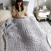 Load image into Gallery viewer, Hand Woven Weighted Blanket