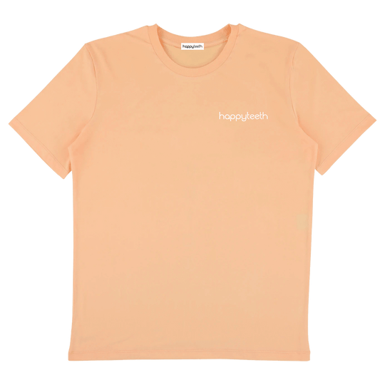 Happy Teeth Classic // Peach Tee